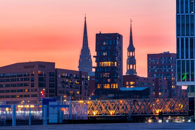 Hamburg Sunset