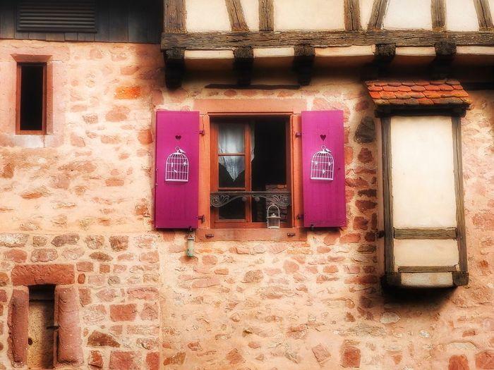 Facade in Alsace Façade Facades Window Windows Style Window Decorations Decor Decoration Living
