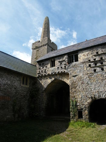 Architecture Building Exterior Built Structure Caldey Island Cloud - Sky Day Derelict Derelict Building Medieval No People Old Church Old Priory Outdoors Pembrokeshire Pembrokeshire Coast Ruined Building Sky Stone Building