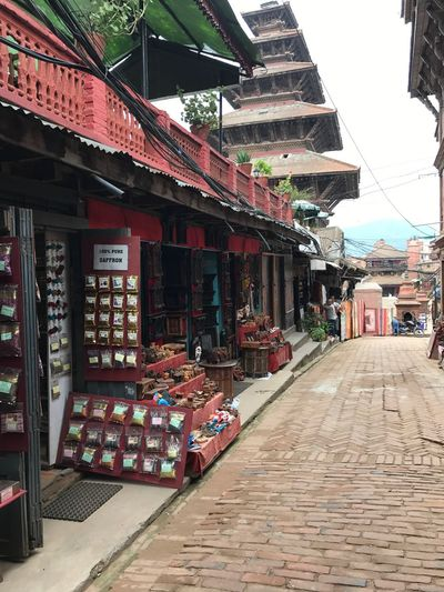 Five Storeyed Pagoda Beautiful Shrines And Temples Sculpture Ancient Architecture Historical Building Rich In Culture Handicrafts Of Nepal... Tourist Destination Pride Of Nepal Bhaktapur