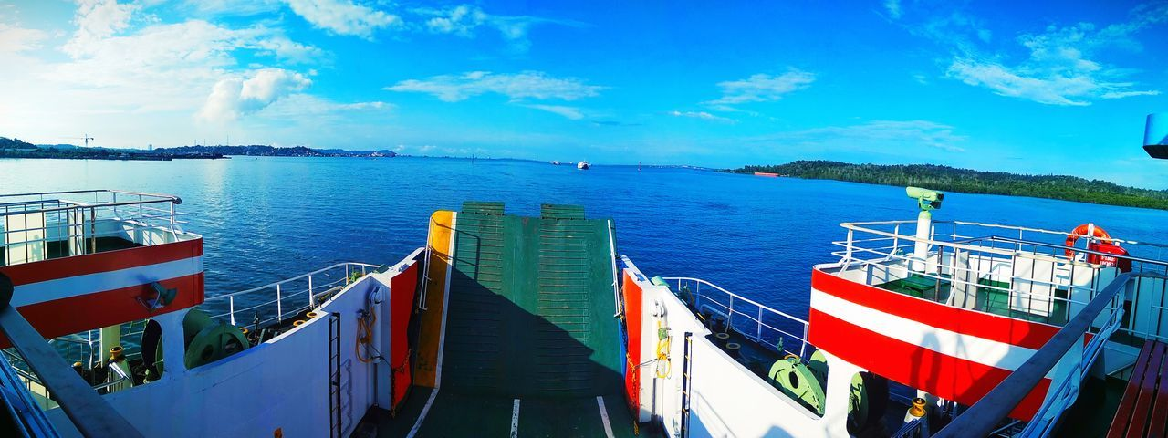 Landscape Politics And Government Water Sea Nautical Vessel City Blue Multi Colored Patriotism Flag Beach