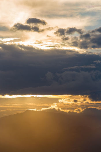 Moody Sunset Bolivia Cloud Cloudy Cochabamba Sunset And Clouds  Awe Backgrounds Beauty In Nature Cloud - Sky Cloudscape Day Dramatic Sky Idyllic Majestic Mountain Nature No People Outdoors Scenics Sky Sky Only Sunlight Sunset Tranquil Scene Tranquility