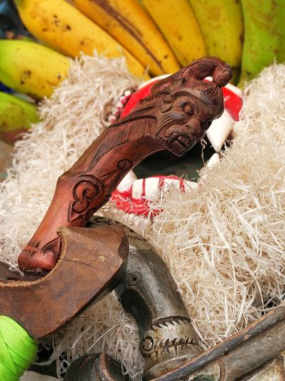 Banana No People Close-up Day Mask Collection Mask Spooky Keris INDONESIA