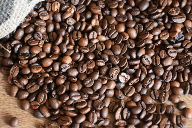 Bean Brown Close-up Coffee - Drink Coffee Beans Day Drink Food Food And Drink Freshness Indoors  Large Group Of Objects No People Roasted Coffee Bean Rustic