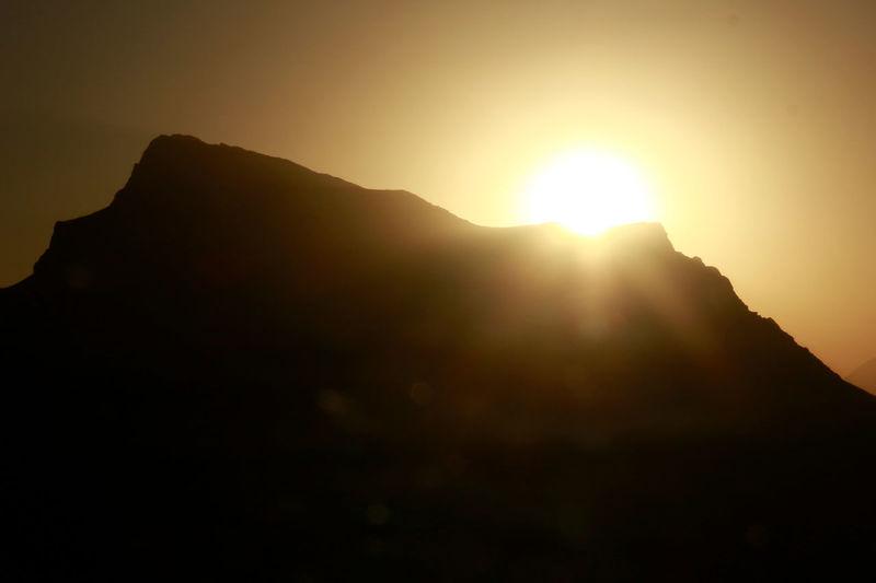 Sunset on top