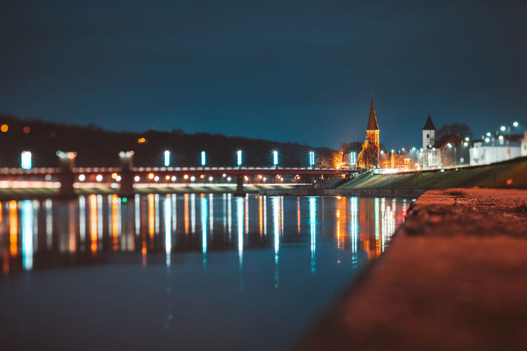 Kaunas old town at night Nikon Z7 Lietuva Europe Night Long Exposure City At Night Kaunas Old Town Old Town River Nemunas Illuminated Architecture Water Built Structure Building Exterior Sky Reflection City Nature No People Waterfront Building Outdoors Glowing Transportation