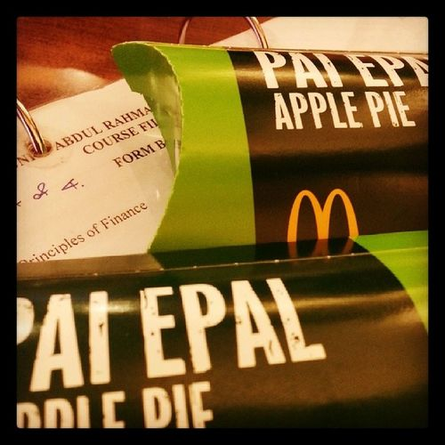 Tea time? Fighting For PF With apple pie