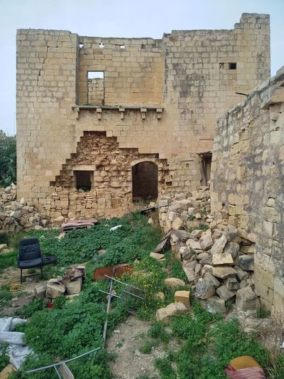 Is-Swatar Malta Mediterranean  Msida Swatar Verlassene Orte Wall Abonded Abonded Buildings Abonded House Abonded Places Architecture Freewall Stonewall Verlassen Wall - Building Feature