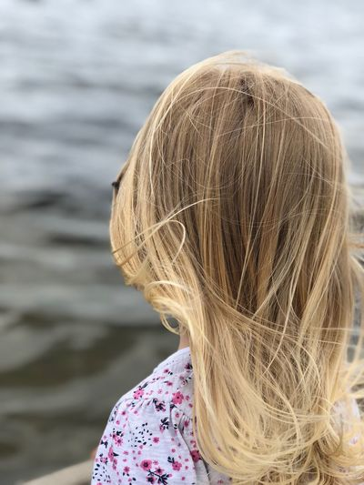 Nature Nature_collection Nature Photography Liebe Sunshine Meer Ostsee Hair Women One Person Girls Blond Hair Headshot Real People Portrait Child Lifestyles Water Outdoors Long Hair Hairstyle Day Childhood Females Focus On Foreground Leisure Activity Rear View