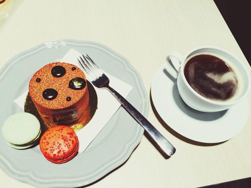 Coffee Dessert Tiramisu Enjoying Life Sweets Macaroons