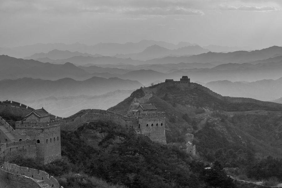 Chinesewall Mountain Springtime EyeEmNewHere Black And White