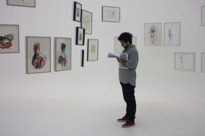 Portrait by Ines Mihalik Portrait Museum Macba  Buenosaires Eyeembuenosaires Art Gallery Art