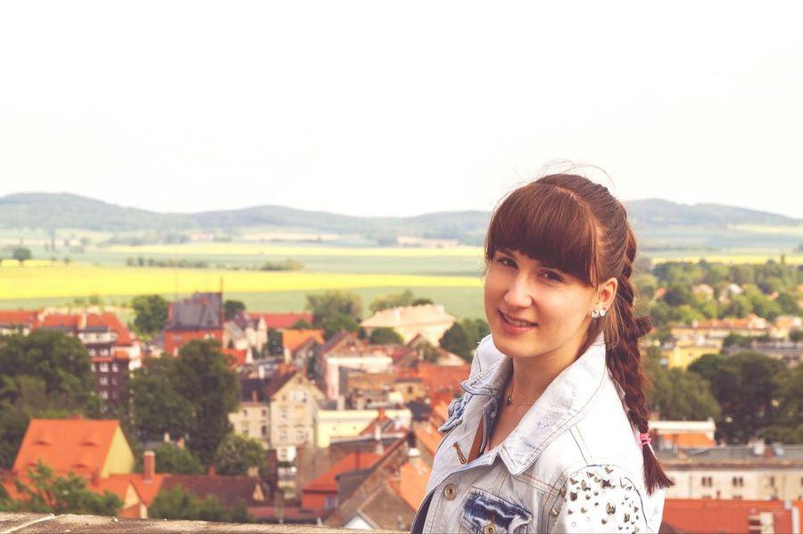 Widok na moje miasto🏠Ratusz Dzierżoniów Travel Trip Photo Landscape Widoki Mountains Rynek City