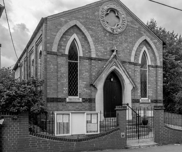 Primitive Methodist Chapel, Astcote, Northamptonshire Black And White Architecture Village Chuches