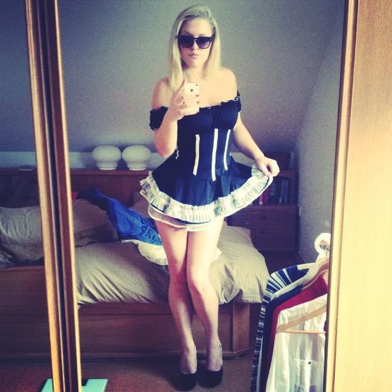 Costume Frenchmaid Party Czechgirl