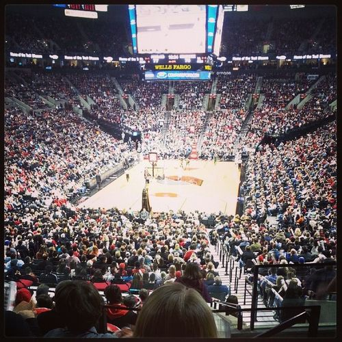 Live from the Moda Center