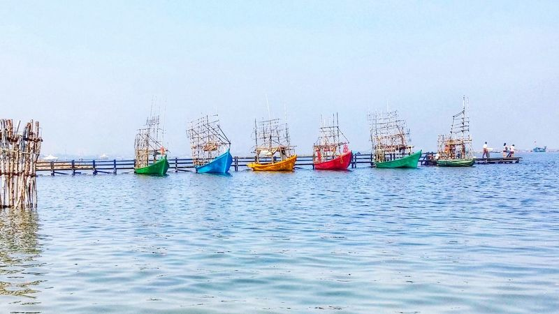 Sea And Sky Colourful Ships The Adventure Handbook The Places I've Been Today Precision The Traveler - 2015 EyeEm Awards Better Together Cobalt Blue By Motorola Lemon By Motorola