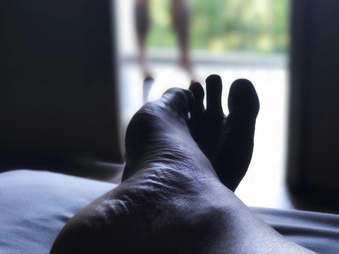 Morning Foot Lazy Lazy Sunday Lazy Day IPhoneography