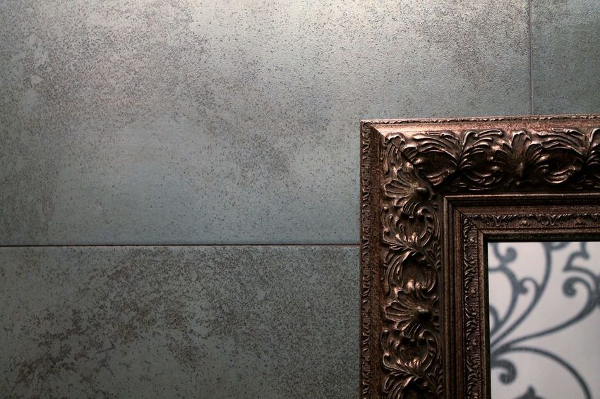 Pattern Metal Textured  No People Architecture Built Structure Indoors  Close-up Gothic Barroco Design Modern Modern Art Interior Design Mirror Minimalism Barroque Gotico Arquitectura Diseño Interior Home Silver  Bronze Metallic