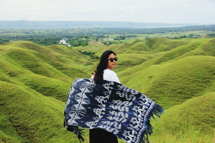 home🙏 Sumba Timur Hill Landscape Rural Scene Green Color Nature Pattern Beauty In Nature Scenics Day Sky Young Adult Vacations Outdoors Grass One Person Agriculture Hiking Tree Young Women Mountain Tranquil Scene Real People Lifestyles Tranquility