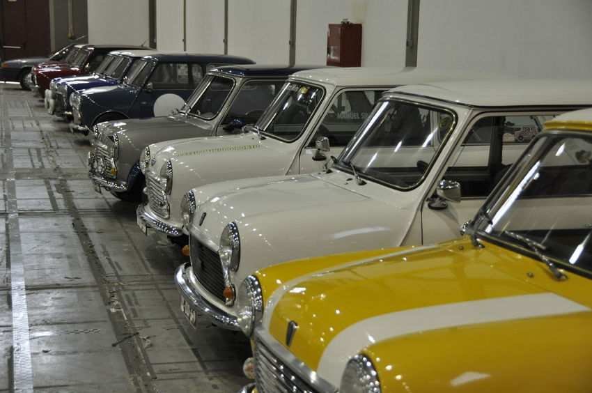 Cars Douro  Mini Cooper Motorsport Oporto Porto Vintage Style Car Carcollection Day Dourovalley Exponor Indoors  Land Vehicle Mode Of Transport No People Outdoors Stationary Transportation Triumph Vintage Cars Vintage Photo