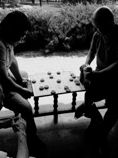 Two People Chinese Chess China The Week Of Eyeem EyeEm Gallery Man Traveling