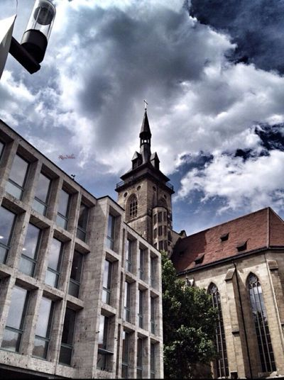 Stuttgart Germany Clouds And Sky Urban Geometry Traveling