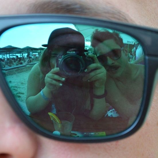 mnogo smo ludi Sunglasses Selfie Friends Exitfestival