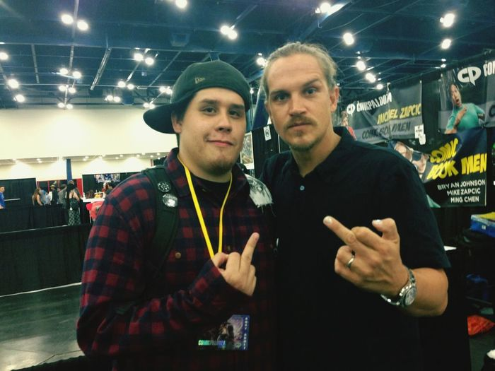 Me and Jason Mewes better known as Jay from Jay and silent Bob
