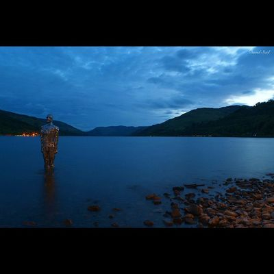 "Mirror Statue at Loch Earn. Photo taken at midnight. ISO 100, f14, 30""sec exposure. Sky_sultans Princely_shotz Ig_shutterbugs Nature_sultans Loves_Scotland BonnieScotland Igbest_shotz Naturelover_gr Ig_landscapes Bnwscotland Insta_Scotland Loves_Scotland Master_shots Nature_wizards Loves_nature Landscape_captures Ig_scot Ic_water Ig_bliss Icu_britain Britains_talent Jaw_dropping_shots Nature_best_shots Global_hotshotz LochEarn nikond7000 nikonphoto nightphotograghy nightscene"