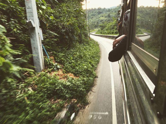Long way Kanchanaburi Thailand Sangklaburi