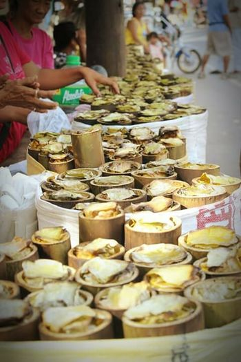 """""""BIBINGKA"""" a traditional and seasonal food in the Philippines that can be found along the sidewalk. EyeEm Best Shots Bestoftheday Traditionalfood Food On The Go Streetfood"""