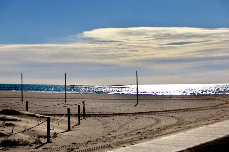 Beach Sea Land Sky Water Sand Horizon Over Water Beauty In Nature