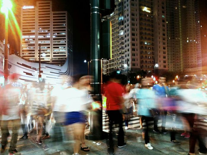 Cities At Night Blurred Motion Long Exposure Mobilephotography Street Night EyeEm Best Shots Eyeem Philippines EyeEm Envision The Future People Collected Community Capture The Moment The Street Photographer - 2016 EyeEm Awards