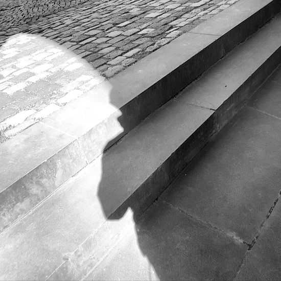 Licht und Schatten Shadow Sunlight Day Black And White Photography No People Architecture Steps And Staircases Outdoors Soest