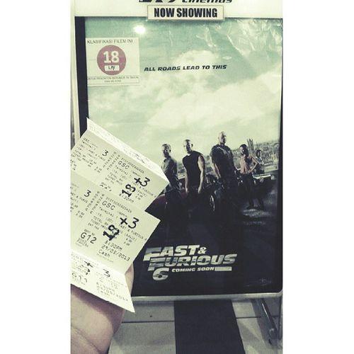 watching FastAndFurious6 Seremban GSC Cinema @hafyzzcrew0h @syam_jamal @al_harith