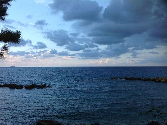 Sea Sky Clouds