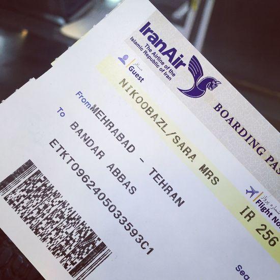 Flight Tehran BandarAbbas Iranair