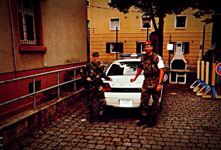 Bundeswehr Feldjäger Military Police Military Army Taking Photos Bamberg  Host Nation Support 911