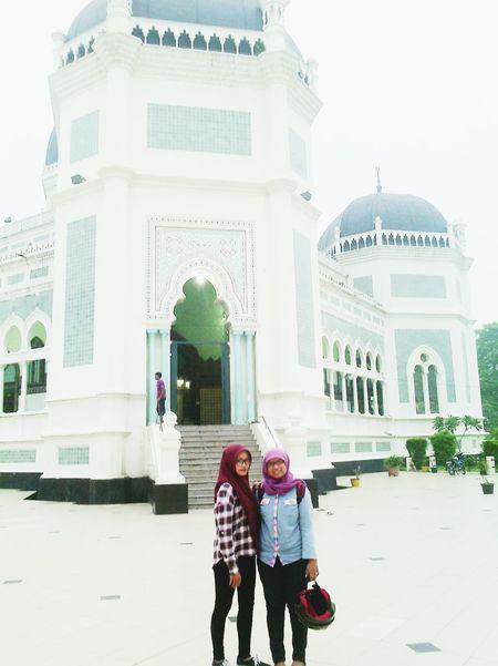 Masjid Raya Medan Friend Hijab