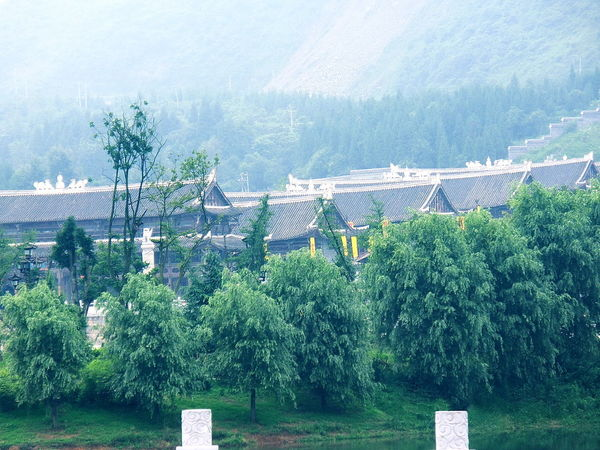 Architecture Beauty In Nature Building Exterior Buildings Built Structure Landscape Nature Non-urban Scene Scenics Tranquil Scene Tranquility Tree China,Guizhou China