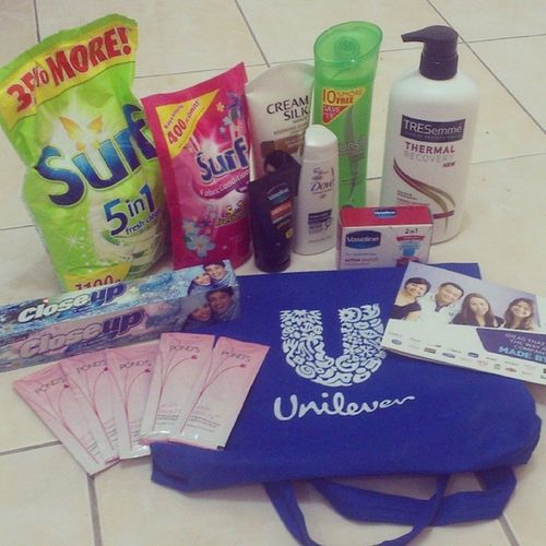 Day4 Markprof Unilever YoungMarketingLeaders Freebies Happy :D