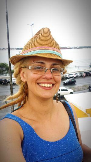 Aracaju Brasil Blonde Hair Enjoying Life That's Me! No Make Up😯 January2016 People Photography Dreadlock Girl Selfie✌ Rio Sergipe