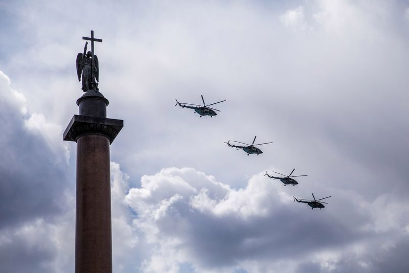 Парад победы 2017 🌟 Airshow Cloud - Sky Flying Parade Saint-Petersburg ПарадПобеды 9мая2017 9мая Military Parade