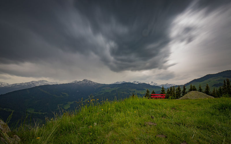 Wildschönau Cloud - Sky Mountain Scenics - Nature Sky Beauty In Nature Environment Nature Land Tranquil Scene Tranquility Mountain Range Landscape Non-urban Scene Plant Grass Green Color No People Mode Of Transportation Field