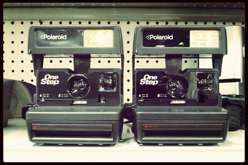 So does a pair of One Steps equal a Two Step? #polaroid #camera #film #instant