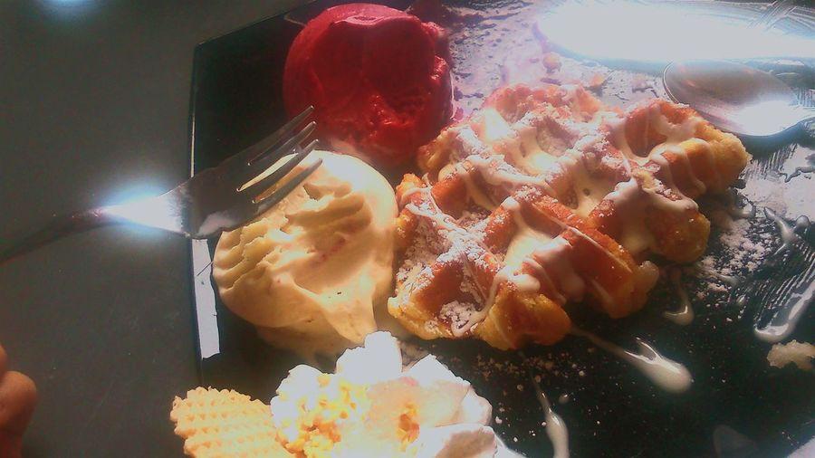 Gaufres Waffle Sunday Love Whitechocolate