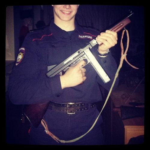 Police TommyGun АвтоматТомпсона