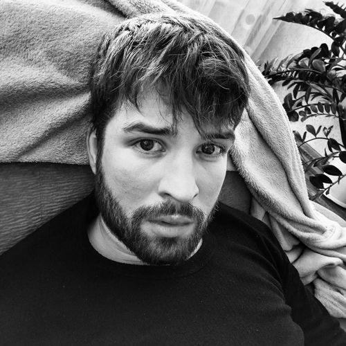 Mymood Chilling Black Blackandwhite Man Looking At Camera Selfie ✌ Deep Thought Deep Eyes Portrait One Person