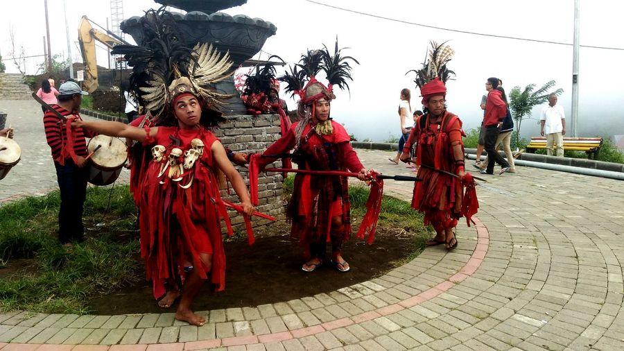 Kabasaran Dance of Minahasa,North Of Sulawesi